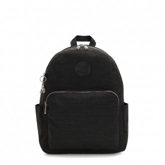 Black Friday 2020 - Kipling CITRINE Large Backpack with Laptop/Tablet Compartment Black Dazz