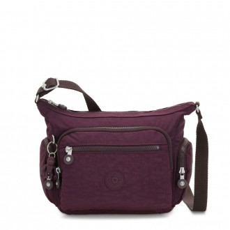 Black Friday 2020 - Kipling GABBIE S Crossbody Bag with Phone Compartment Dark Plum