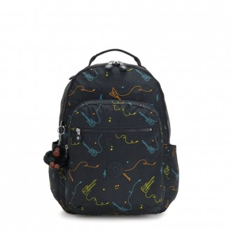 Kipling SEOUL Large Backpack with Laptop Protection Rock On