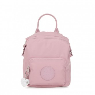 Black Friday 2020 - Kipling NALEB Small Backpack with tablet sleeve Faded Pink