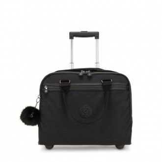 Black Friday 2020 - Kipling NEW CEROC Wheeled Working Bag with Laptop Protection True Dazz Black