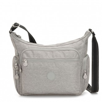 Black Friday 2020 - Kipling GABBIE Medium Shoulder Bag Chalk Grey