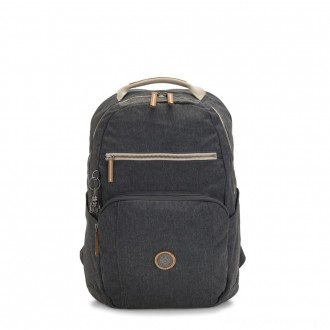 Kipling TROY Large Backpack with padded laptop compartment Casual Grey