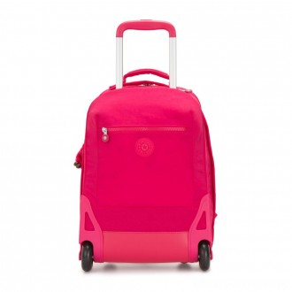 Black Friday 2020 - Kipling SOOBIN LIGHT Large wheeled backpack with laptop protection True Pink
