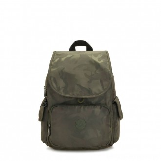 Black Friday 2020 - Kipling CITY PACK Medium Backpack Satin Camo