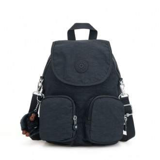 Black Friday 2020 - Kipling FIREFLY UP Small Backpack Covertible To Shoulder Bag True Navy