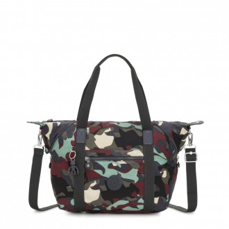 Kipling ART Handbag Camo Large