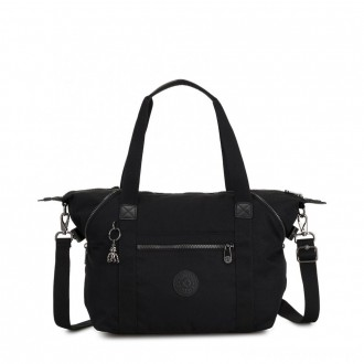 Kipling ART Handbag with Detachable Straps Rich Black