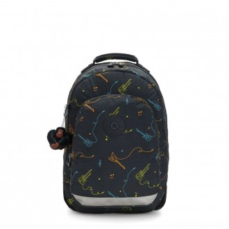 Kipling CLASS ROOM Large backpack with laptop protection Rock On