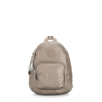 Kipling GLAYLA Extra small 3-in-1 Backpack/Crossbody/Handbag Metallic Pewter Gifting