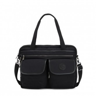 Black Friday 2020 - Kipling MARIC Working Bag with laptop protection Rich Black