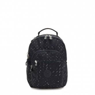 Black Friday 2020 - Kipling SEOUL S Small Backpack with Tablet Compartment Tile Print