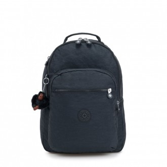 Black Friday 2020 - Kipling CLAS SEOUL Large backpack with Laptop Protection True Navy