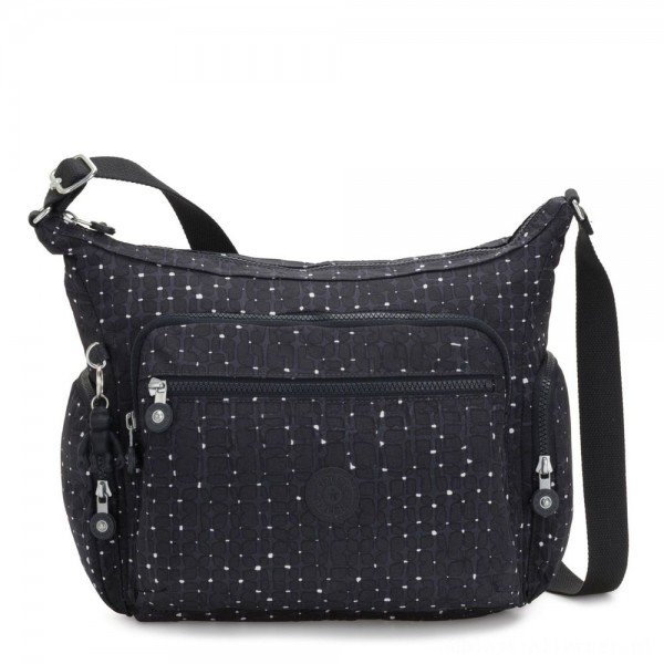 Black Friday 2020 - Kipling GABBIE Medium Shoulder Bag Tile Print