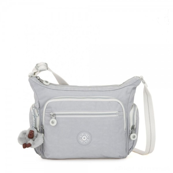 Black Friday 2020 - Kipling GABBIE S Crossbody Bag with Phone Compartment Active Grey Bl