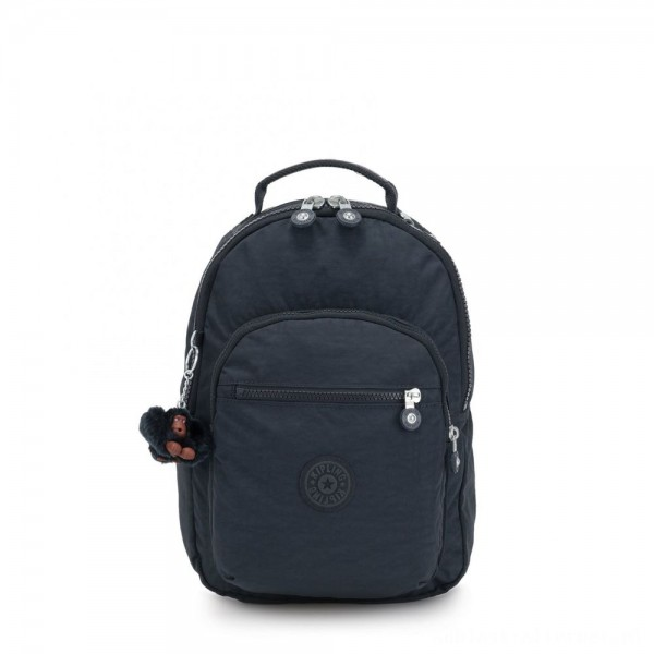 Black Friday 2020 - Kipling CLAS SEOUL S Backpack with Tablet Compartment True Navy
