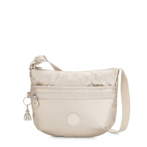 Black Friday 2020 - Kipling ARTO S Small Cross-Body Bag Cloud Metal