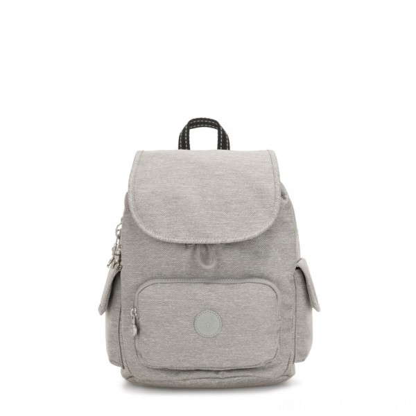 Black Friday 2020 - Kipling CITY PACK S Small Backpack Chalk Grey