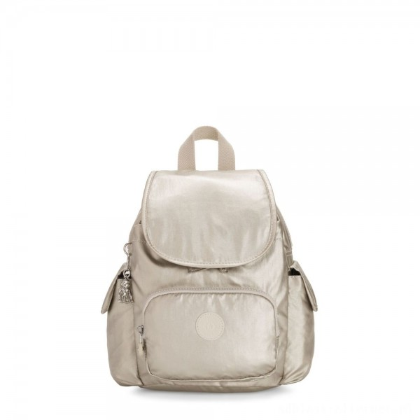 Kipling CITY PACK MINI City Pack Mini Backpack Cloud Metal