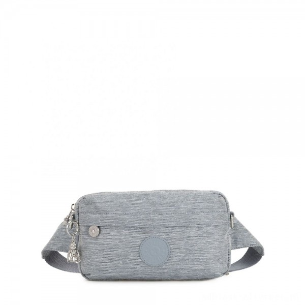 Black Friday 2020 - Kipling HALIMA Small 2-in-1 Waistbag and Crossbody Cool Denim