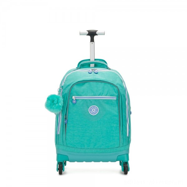 Black Friday 2020 - Kipling ECHO Wheeled School Bag Deep Aqua C
