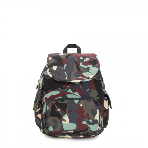 Black Friday 2020 - Kipling CITY PACK S Small Backpack Camo Large