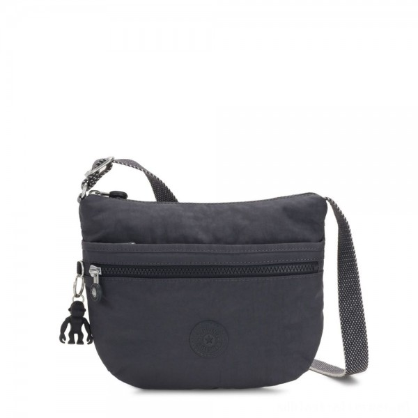 Kipling ARTO S Small Cross-Body Bag Night Grey