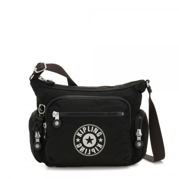 Black Friday 2020 - Kipling GABBIE S Crossbody Bag with Phone Compartment Lively Black