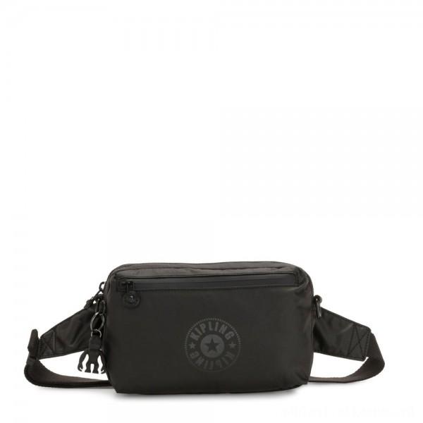 Black Friday 2020 - Kipling HALIMA Small 2-in-1 Waistbag and Crossbody Raw Black