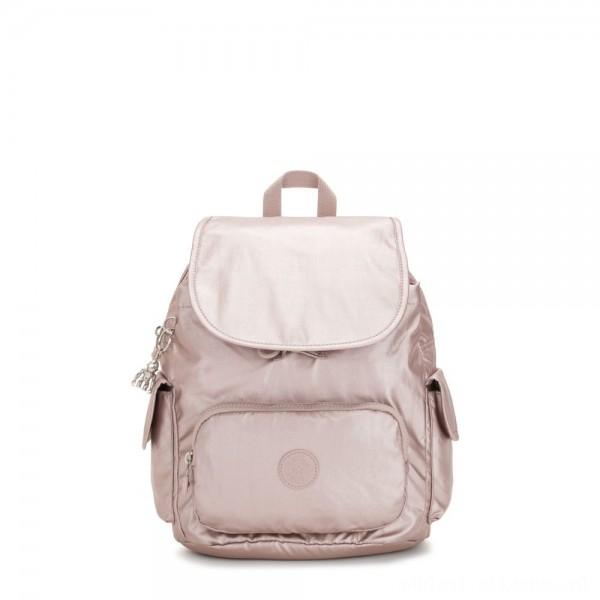 Black Friday 2020 - Kipling CITY PACK S Small Backpack Metallic Rose