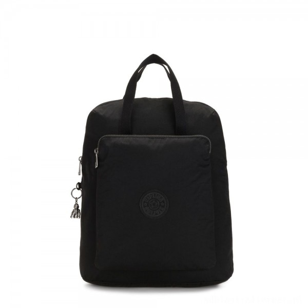 Black Friday 2020 - Kipling KAZUKI Large 2-in-1 Shoulderbag and Backpack Rich Black
