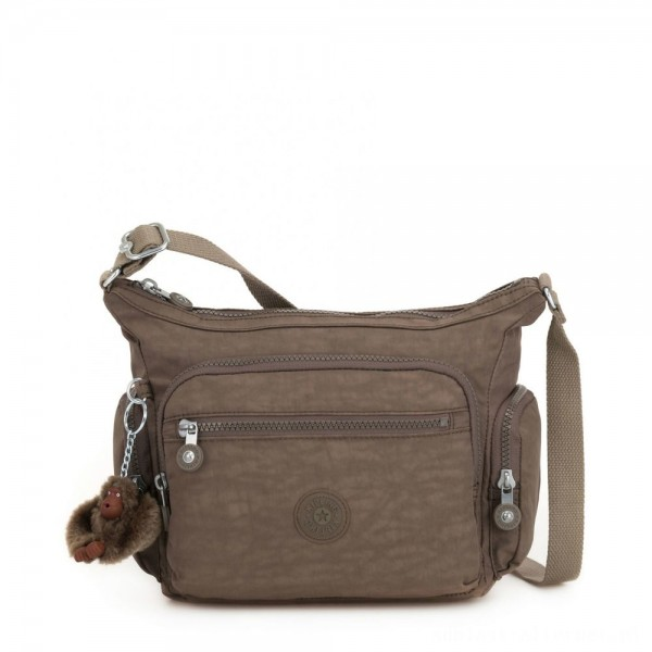 Black Friday 2020 - Kipling GABBIE S Crossbody Bag with Phone Compartment True Beige