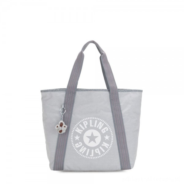 Black Friday 2020 - Kipling ZANE Medium tote bag with shoulderstrap Active Grey C
