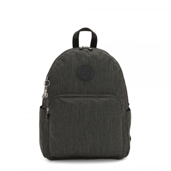 Black Friday 2020 - Kipling CITRINE Large Backpack with Laptop/Tablet Compartment Black Indigo Work