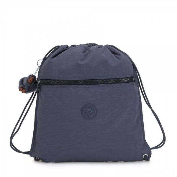 Black Friday 2020 - Kipling SUPERTABOO Medium Drawstring Bag True Jeans