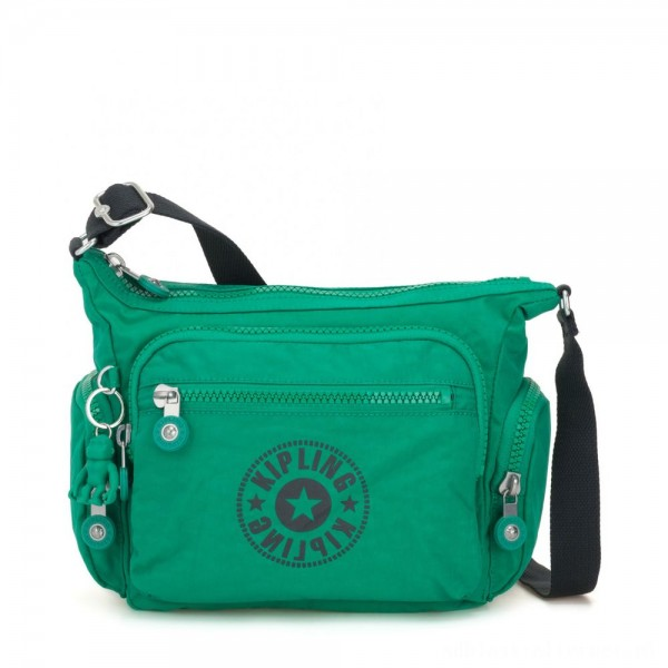 Kipling GABBIE S Crossbody Bag with Phone Compartment Lively Green