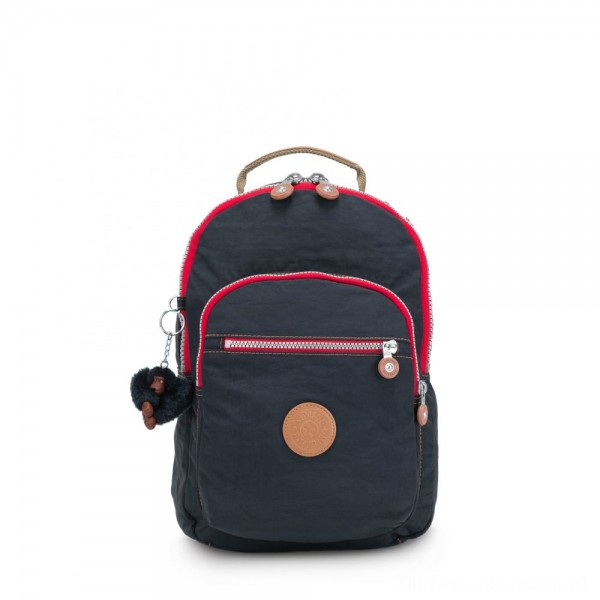 Black Friday 2020 - Kipling CLAS SEOUL S Backpack with Tablet Compartment True Navy C