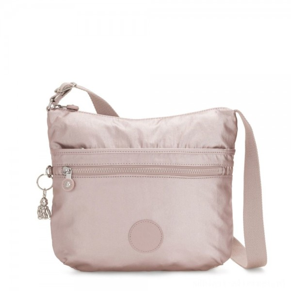 Black Friday 2020 - Kipling ARTO Shoulder Bag Across Body Metallic Rose