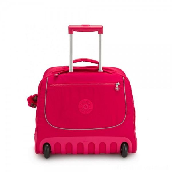 Kipling CLAS DALLIN Large Schoolbag with Laptop Protection True Pink