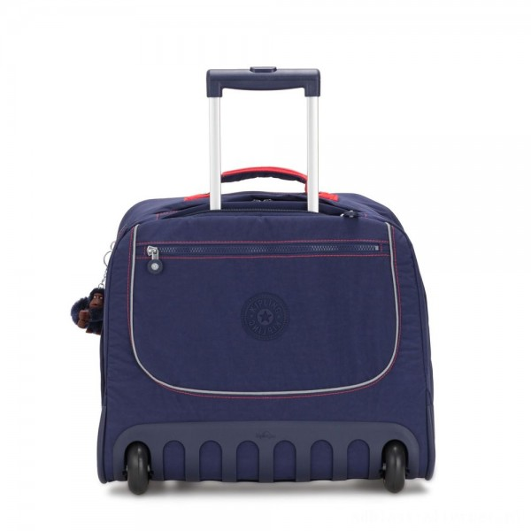 Kipling CLAS DALLIN Large Schoolbag with Laptop Protection Polished Blue C