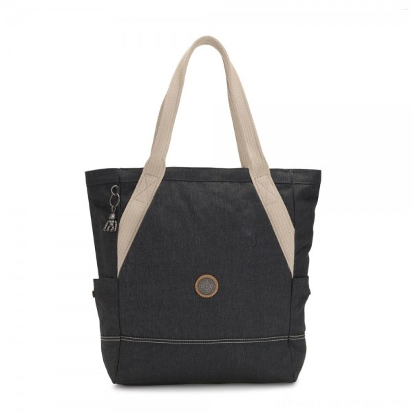 Black Friday 2020 - Kipling ALMATO Large Spacious Tote Bag Casual Grey