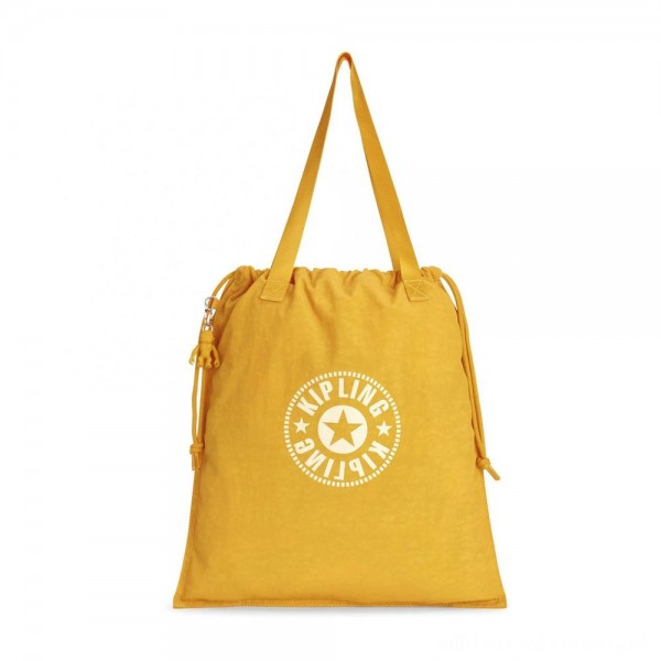 Black Friday 2020 - Kipling NEW HIPHURRAY Lightweight Tote Bag Lively Yellow