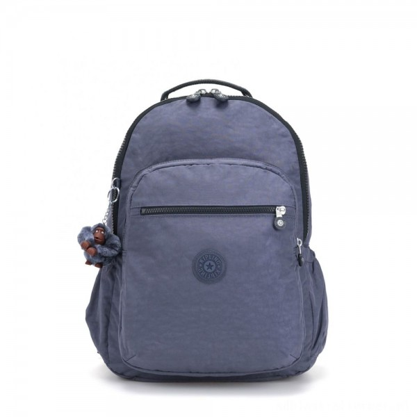 Black Friday 2020 - Kipling SEOUL GO Large Backpack with Laptop Protection True Jeans