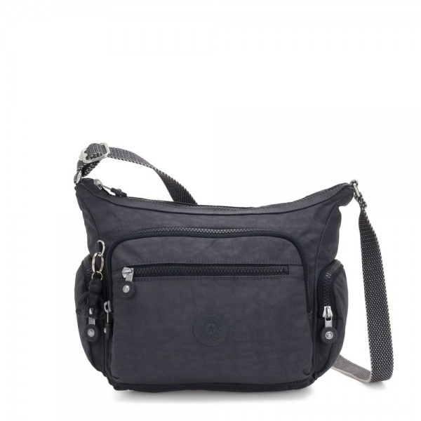 Black Friday 2020 - Kipling GABBIE S Crossbody Bag with Phone Compartment Night Grey