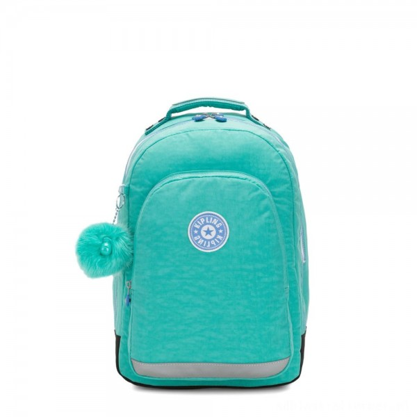Black Friday 2020 - Kipling CLASS ROOM Large backpack with laptop protection Deep Aqua C