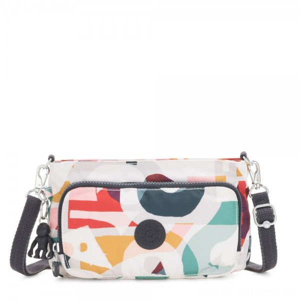 Black Friday 2020 - Kipling MYRTE Small 2 in 1 Crossbody and Pouch Music Print