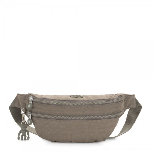 Black Friday 2020 - Kipling SARA Medium Bumbag Convertible to Crossbody Bag Seagrass