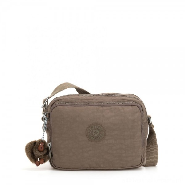 Black Friday 2020 - Kipling SILEN Small Across Body Shoulder Bag True Beige