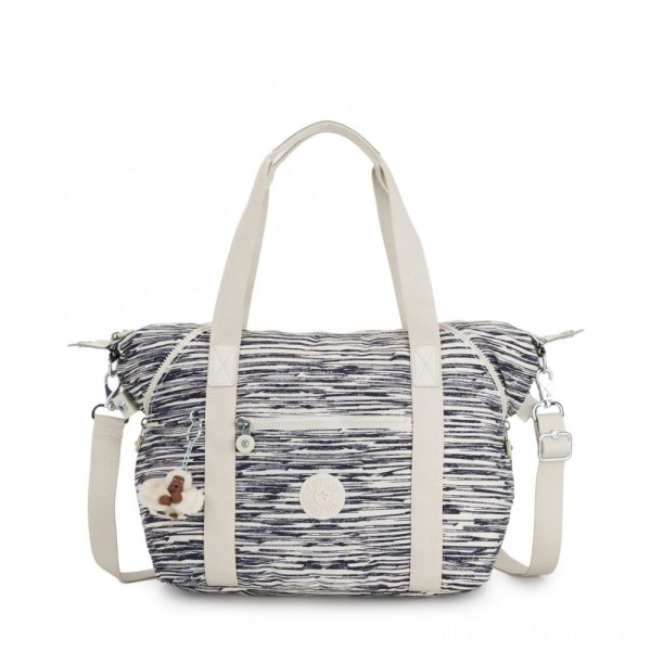 Black Friday 2020 - Kipling ART Handbag Scribble Lines