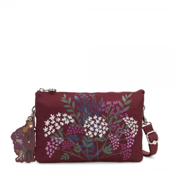Black Friday 2020 - Kipling RIRI Small crossbody bag convertible to pouch Wind Of Nature R